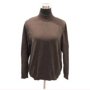 Northern Reflections mock neck sweater